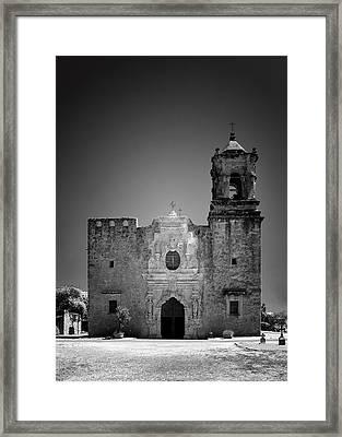 Church Mission San Jose Framed Print by Christine Till