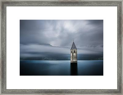 Church Of Graun Framed Print by Leon