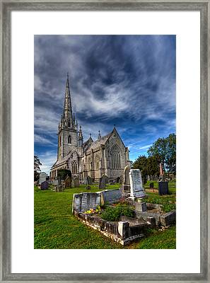 Church Of Marble Framed Print by Adrian Evans