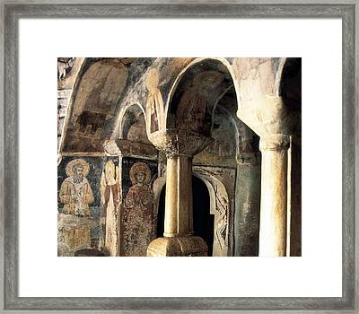 Church Of Saint Naum. Macedonia. Ohrid Framed Print by Everett