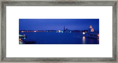 Church Of San Giorgio Maggiore Venice Framed Print by Panoramic Images