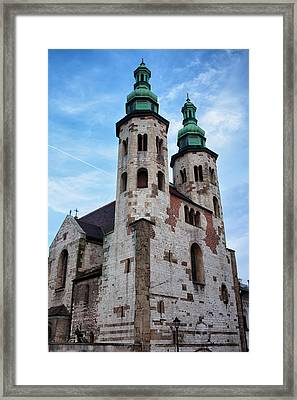 Church Of St. Andrew In Krakow Framed Print by Artur Bogacki
