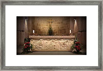 Church Of St. Anne Altar Framed Print by Stephen Stookey