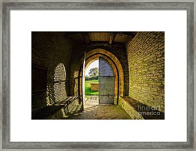 Church Of St Mary The Virgin Framed Print by Susie Peek