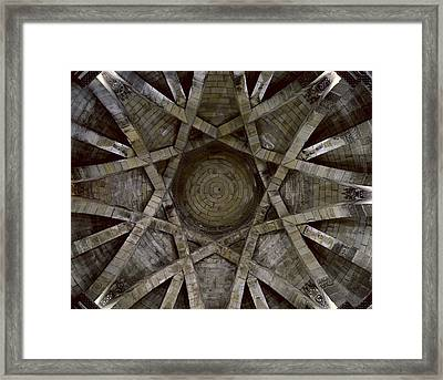 Church Of The Holy Sepulchre. 12th Framed Print by Everett