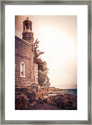 Church Of The Loaves And The Fishes Framed Print by Dustin Abbott