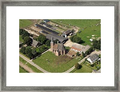 Church, Persingen Framed Print by Bram van de Biezen
