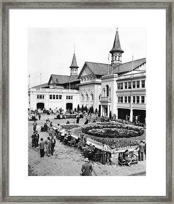 Churchill Downs Non-horse Activity  Framed Print by Retro Images Archive
