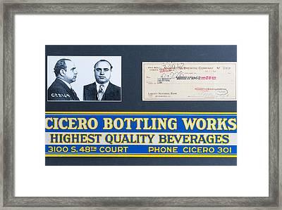 Cicero Bottling Works Chicago Brewing Framed Print by Kurt Olson