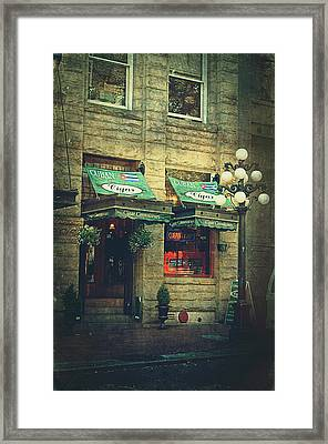 Cigar Shop Framed Print by Maria Angelica Maira