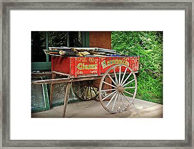Cigar Wagon Framed Print by Marty Koch