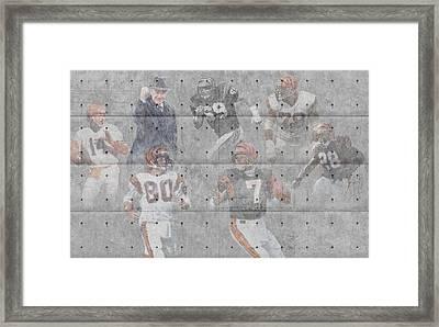 Cincinnati Bengals Legends Framed Print by Joe Hamilton
