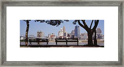 Cincinnati Oh Framed Print by Panoramic Images