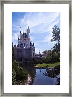 Cinderella Castle Framed Print by Roger Wedegis