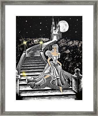 Cinderella Framed Print by Svetlana Sewell