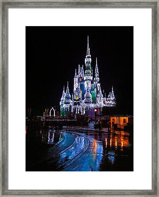 Cinderella's Castle Framed Print by Michael Petrizzo