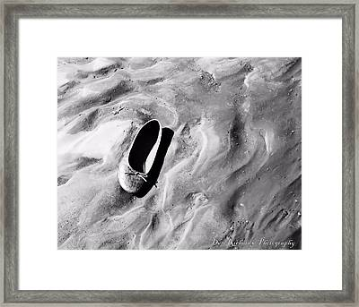 Cinderella's Slipper Framed Print by Dan Richards