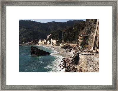 Cinque Terre Framed Print by Leslie Leda