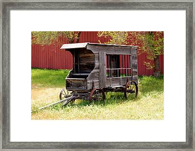 Circa 1911 Paddy Wagon Framed Print by Leah McDaniel