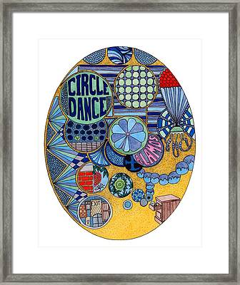 Circle Dance Framed Print by Gregory Carrico