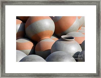 Circles No5_pjboylan Framed Print by PJ Boylan