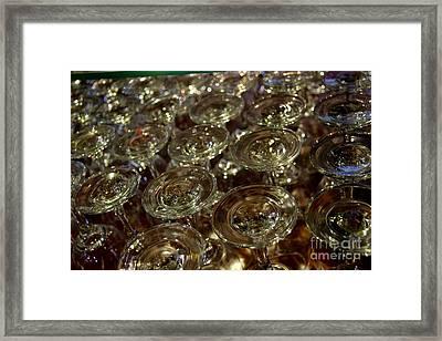 Circles Of Delight Framed Print by Al Bourassa