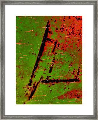 Circulate Framed Print by Tom Druin