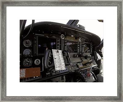 Cirrus S R 22 Cockpit Framed Print by Daniel Hagerman