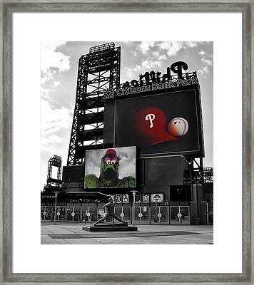 Citizens Bank Park Philadelphia Framed Print by Bill Cannon