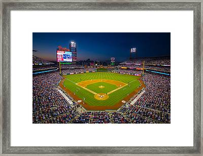 Citizens Bank Park Philadelphia Phillies Framed Print by Aaron Couture