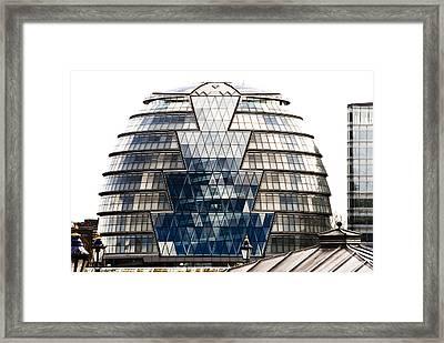 City Hall London Framed Print by Christi Kraft