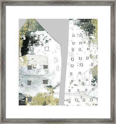 City I Framed Print by Sarah Ogren