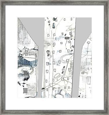 City II Framed Print by Sarah Ogren