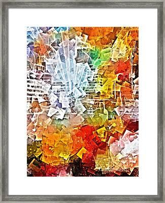 City Jam Framed Print by Lutz Baar