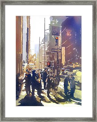 City Light Framed Print by Kris Parins