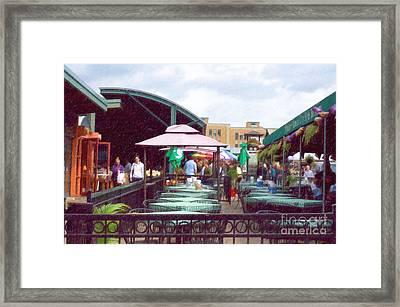 City Market Framed Print by Liane Wright