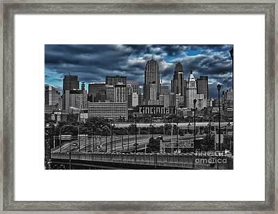 City Of Color Framed Print by Steve Johnson