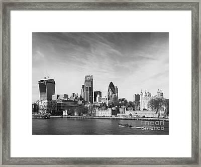 City Of London  Framed Print by Pixel Chimp