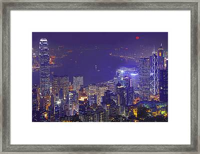 City Of Magic Framed Print by Midori Chan