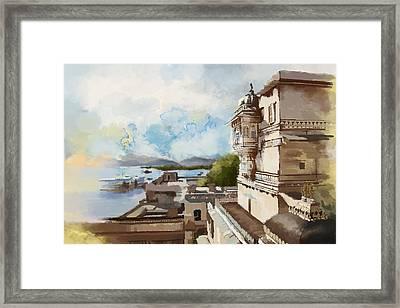 City Palace Framed Print by Catf
