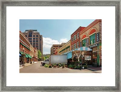 City - Roanoke Va - The City Market Framed Print by Mike Savad