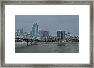 City Scape Framed Print by Andrew Johnson