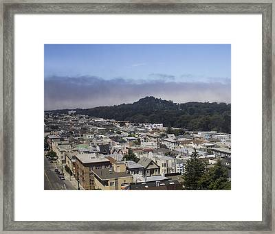City Scape Framed Print by Dee  Savage