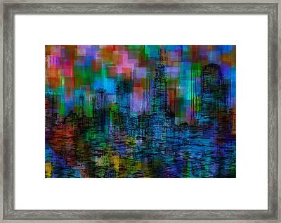 Cityscape 5 Framed Print by Jack Zulli