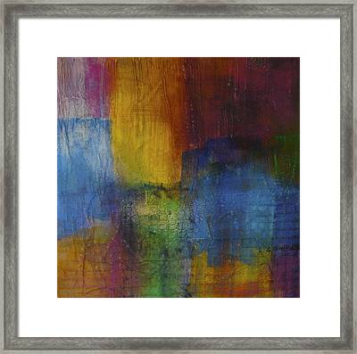 Cityscape I Framed Print by Shirley Shepherd