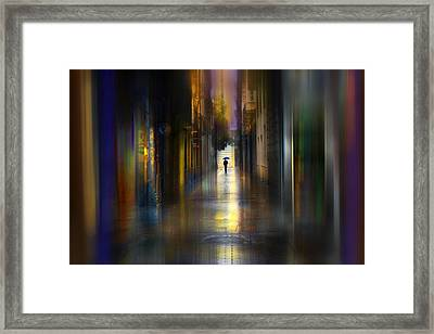 Cityscape Framed Print by Sol Marrades