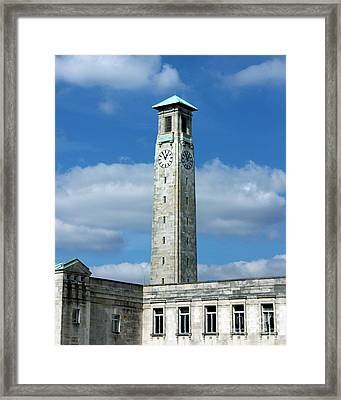 Civic Centre Southampton Framed Print by Terri Waters