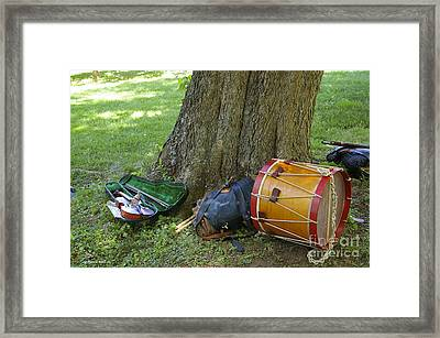 Civil War Music Framed Print by Tannis  Baldwin