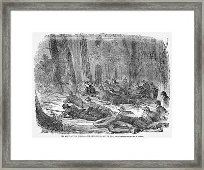 Civil War Union Army, 1862 Framed Print by Granger