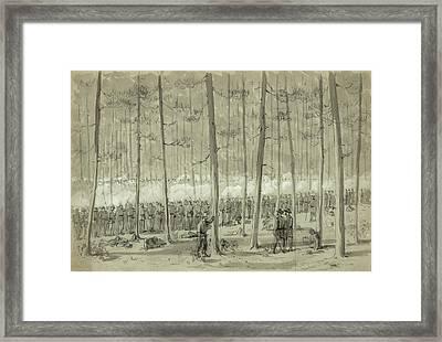 Civil War Union Army, 1864 Framed Print by Granger